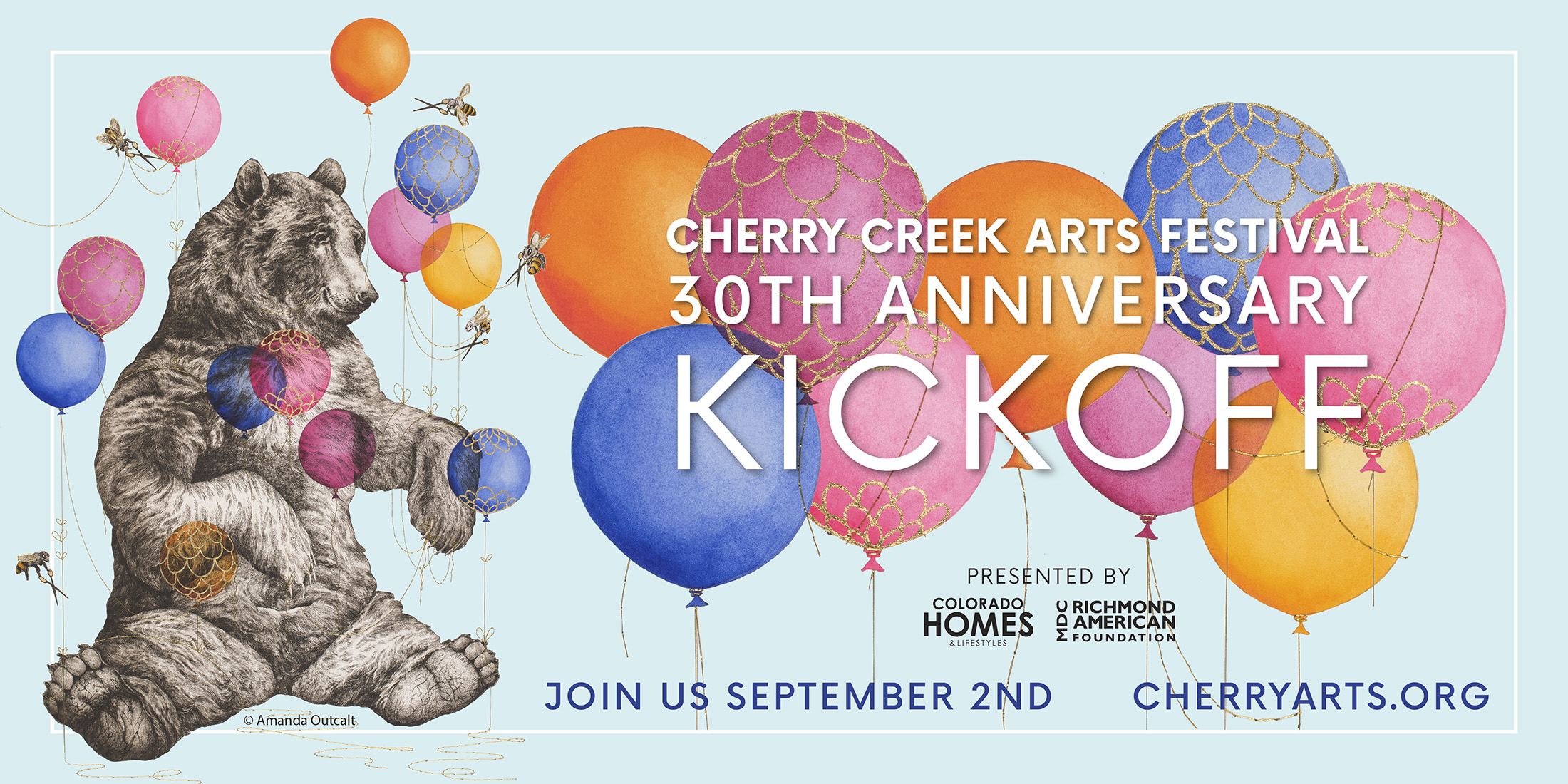 Cherry Creek Arts Festival 30th Anniversary Kickoff - Join us September 2nd